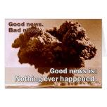 Buenas noticias, malas noticias con la explosión tarjetón
