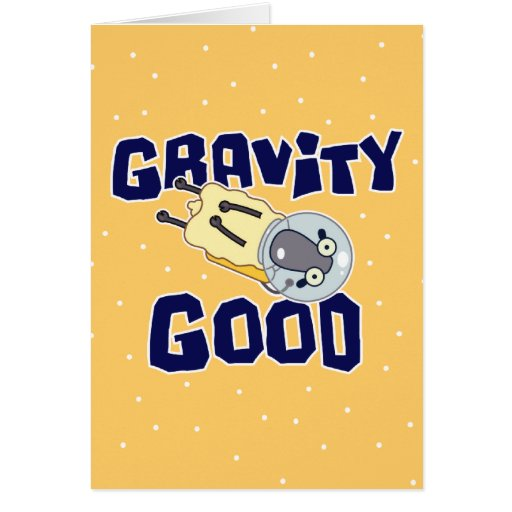 Buenas ovejas de la gravedad (cumpleaños) tarjeta de felicitación