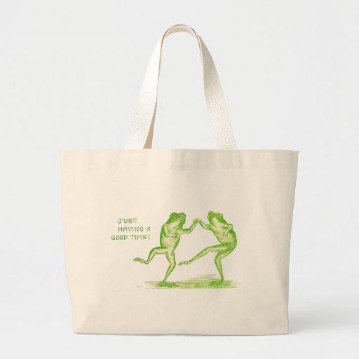 Buenas ranas del tiempo bolsas