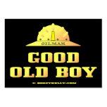 Buenas tarjetas de visita viejas del muchacho
