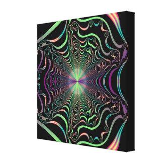 Buenas vibraciones impresión en lienzo estirada