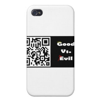 Bueno contra mal iPhone 4/4S carcasas