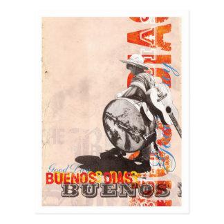 Bueno Dias postcard
