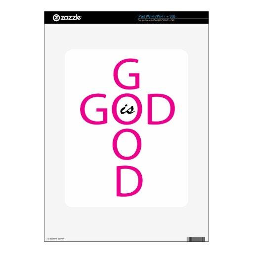 Bueno es el buen rosa iPad skin