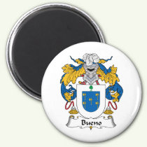 Bueno Family Crest Magnet