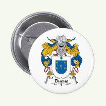 Bueno Family Crest Button