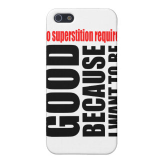 Bueno porque quiero ser, ningún superstiton requer iPhone 5 cárcasas
