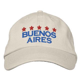 BUENOS AIRES - 001 GORRA DE BÉISBOL BORDADA