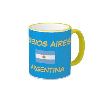 Buenos Aires Argentina Crest Mug