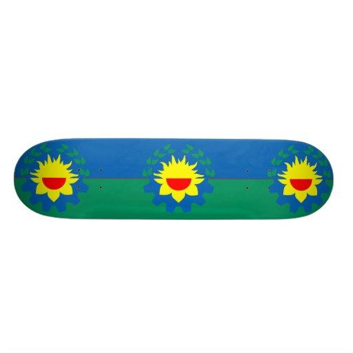 Buenos Aires, Argentina flag Skateboard Deck