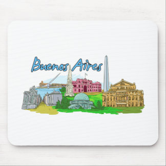 Buenos Aires - Argentina Mouse Pad