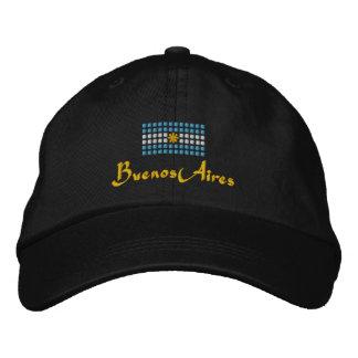 Buenos Aires Cap -  Argentinian Flag Hat