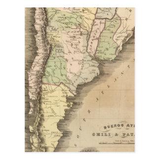 Buenos Aires, Chile, y Patagonia Postales
