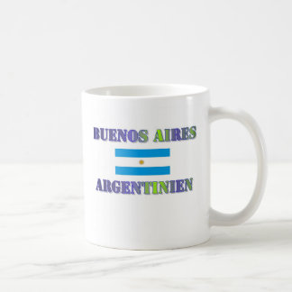 Buenos Aires Classic White Coffee Mug