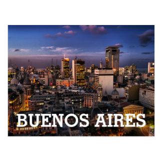 Buenos Aires Desde La Legislatura V Postcard
