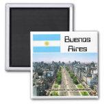 Buenos Aires Imán De Frigorifico