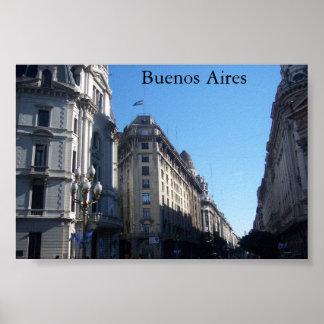 Buenos Aires, la Argentina Posters