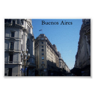 Buenos Aires, la Argentina Póster