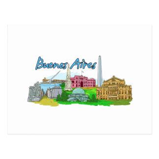 Buenos Aires - la Argentina Tarjetas Postales