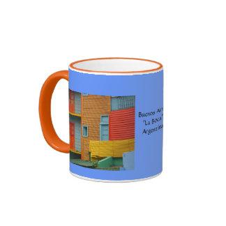 Buenos Aires La Boca Coffee Cup Ringer Coffee Mug