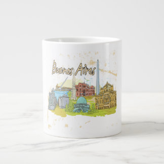 Buenos Aires Large Coffee Mug
