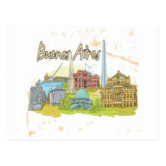 Buenos Aires Postcards