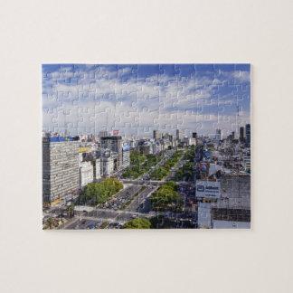 Buenos Aires Skyline Jigsaw Puzzle