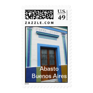 Buenos Aires Street Stamp