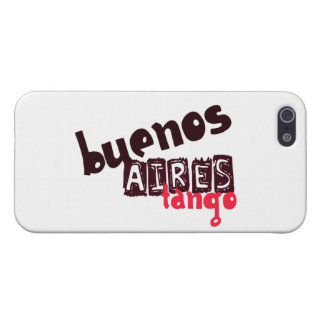 Buenos Aires Tango Case For iPhone SE/5/5s