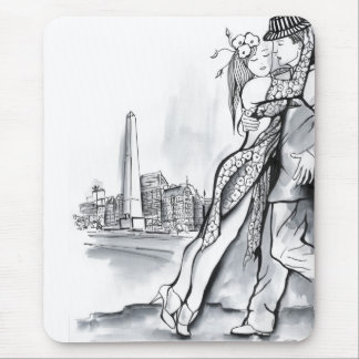 Buenos Aires Tango Mouse Pad