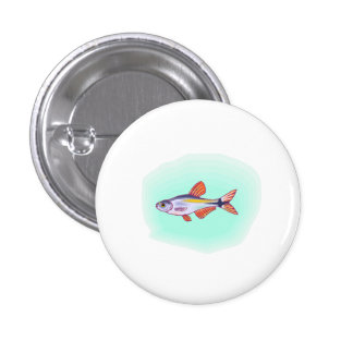 Buenos Aires Tetra Fish Pinback Buttons