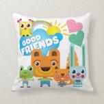 Buenos amigos de los animales almohadas