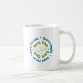 buenos amigos del círculo de lectores taza de café