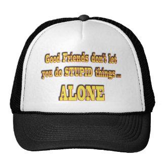Buenos amigos gorras de camionero
