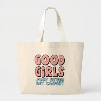 Buenos camisetas y regalos de los chicas para ella bolsa