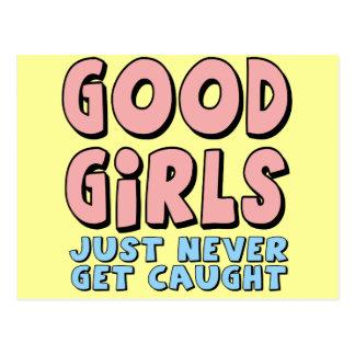 Buenos camisetas y regalos de los chicas para ella postales