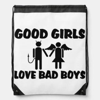 Buenos chicos malos del amor de los chicas mochilas