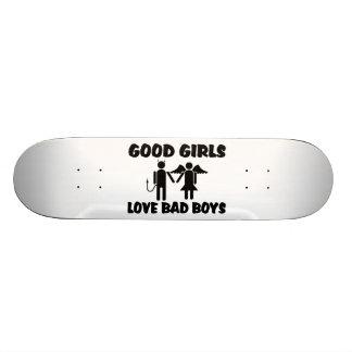 Buenos chicos malos del amor de los chicas patines