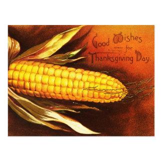 Buenos deseos para el día de la acción de gracias postales