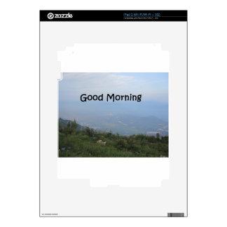 Buenos días calcomanía para el iPad 2