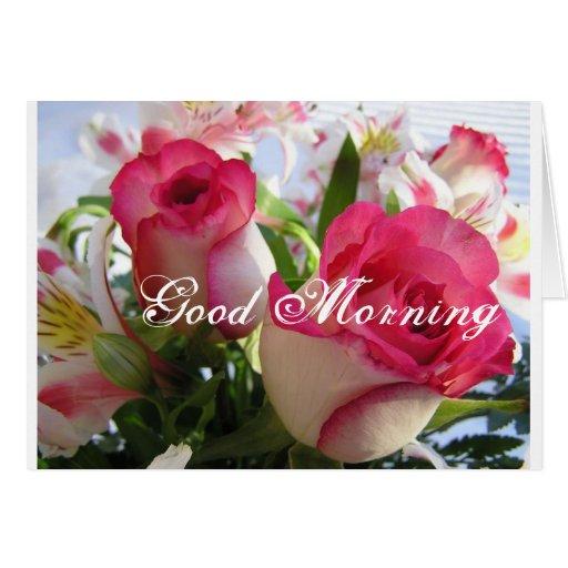 Buenos días felicitación