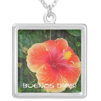 Buenos Dias Personalized Necklace