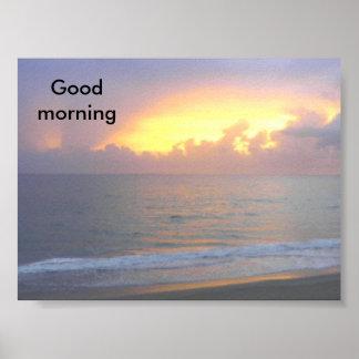 Buenos días poster