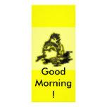 ¡Buenos días! Tarjeta Publicitaria