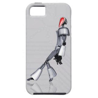 """BUENOS SUEÑOS: """"Robot del baile """" Funda Para iPhone 5 Tough"""