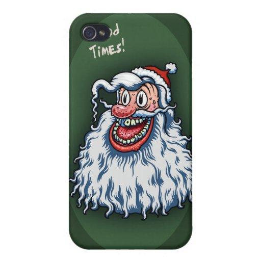 Buenos tiempos de Santa iPhone 4 Protector