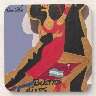 BuenosAires_Tango_Poem Drink Coaster