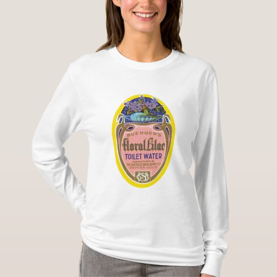 Buerger's Floral Lilac Toilet Water T-Shirt