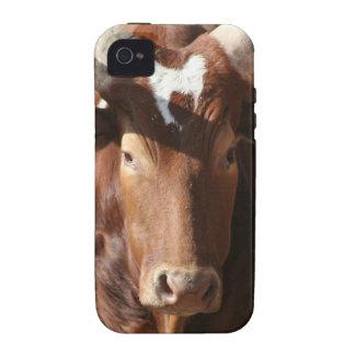 Buey con el caso largo del ambiente de Iphone 4 de Case-Mate iPhone 4 Carcasa