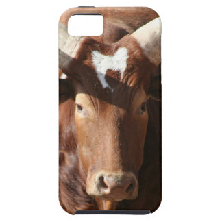 Buey con el caso largo del iPhone 5 de los cuernos iPhone 5 Case-Mate Cobertura